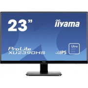 LED-monitor 58.4 cm (23 inch) Iiyama XU2390HS-B1 Energielabel A 1920 x 1080 pix Full HD 5 ms HDMI, DVI, VGA IPS LED
