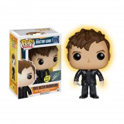 Funko Pop Regeneration Tenth Doctor Who Brilla En Oscuridad Exclusivo Glow-Multicolor