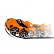 Chicco Gioco Turbo Touch Stunt Colore Arancione