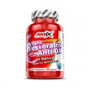 Pure Resveratrol Anti-ox - 60 caps