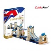 Cubicfun Tower Bridge Londra Anglia Puzzle 3D 120 de piese