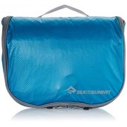 Sea to Summit Travelling Light Hanging Toiletry Bag (Small/Pacific Blue) by