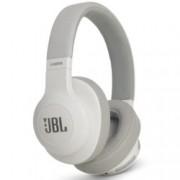 Слушалки JBL E55BT, безжични, микрофон, до 20 часа работа, бели