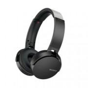 Слушалки Sony Headset MDR-XB650BT, Bluetooth, безжични, NFC, черни