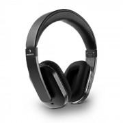 Auna ELEGANCE BLUETOOTH NFC слушалки APTX батерия хендс-фри изкуствена кожа черни (BTF8-Elegance BL)