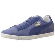 Puma Women's Glyde LO Basic Sports Crown Blue Leather Running Sneaker - 5 UK/India (38 EU)