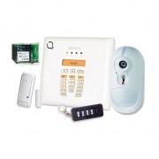 BENTEL SECURITY Bentel BW30-KV Kit antifurto wireless centrale 30 zone con comunicatore GSM/GPRS + rilevatore ir con camera