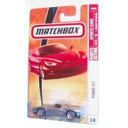 Mattel Matchbox 2008 MBX Sports Cars 1:64 Scale Die Cast Metal Car # 18 - Silver Sport Coupe Ford GT