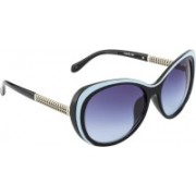 Ted Smith Cat-eye Sunglasses(Blue)