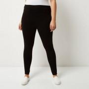 River Island Womens Plus Size Black high rise leggings (Size 26 long)