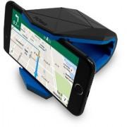 Tizum Covert Universal Car Mount Cradle Mobile Holder for GPS Smartphones upto 6-inch (Blue)