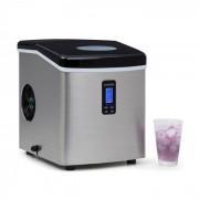 Klarstein Mr. Black-Frost Eismaschine 150W Edelstahl schwarz 15kg