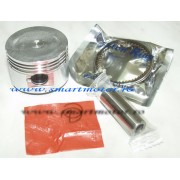 Piston complet 80cc 47mm