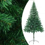 vidaXL Изкуствено коледно дърво, 180 см