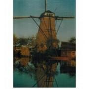 Holland Kynderdyk Windmill 1500 Piece Jigsaw Puzzle
