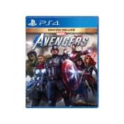 SQUARE ENIX Preventa Juego PS4 Marvel's Avengers: Deluxe Edition