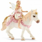SCHLEICH Elfo Lili, in sella al Pony 70501