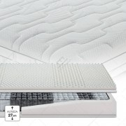 Cortassa Garda 800 Memory Classic Sfoderabile Silver Active 200cm 85cm