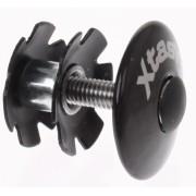 Xtasy Balhoofdplug One Time 1 1/8 Inch Carbon Zwart