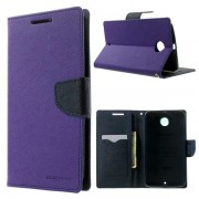 Korean Mercury Fancy Diary Wallet Case for Google Nexus 6 - Purple