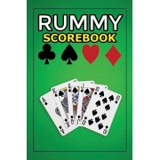 Rummy Score Book: 120 pages, Keep Track of Scoring Card Games - Gin Rummy Card Game Sheets Note Book Perfect for Scorekeeping, Paperback/Rummy Notebooks