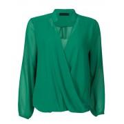 Fashionize Top Overslag Groen