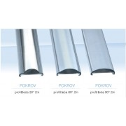 LED 0200 Pokrov za aluminijski profil leća 90°2m