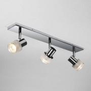 Astro Tokai Triple Bar plafondlamp opbouwspot exclusief 3x GU10 chroom 14.6x7x14.6cm IP44 staal A 6137