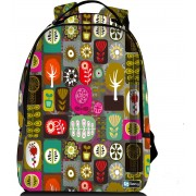 """Sleevy laptop rugzak 15,6"""" Deluxe kleurrijke symbolen"""