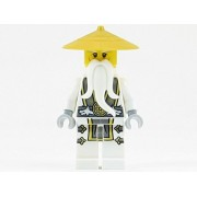 Master Sensei Wu Dragon Minifigure New