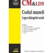 Codul muncii. Legea dialogului social Act. 1 Noiembrie 2016