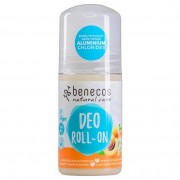 Benecos Natural Deo-Roll-On Apricot & Elderflower, 50 ml