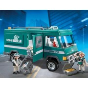 Masina de transportat bani Police Playmobil