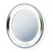Oglinda cosmetica cu ventuze Beurer, LED, marire 5x