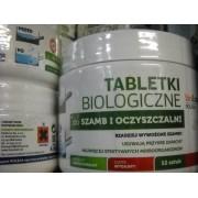 Tabletki biologiczne do szamb i kanalizacji 6 szt
