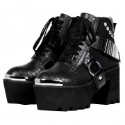 Damen Schuhe Wedge Boots - DISTURBIA - AW19F10