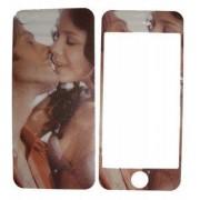 Folie protectie cu design iPhone 5 -Sensual v2 ( fata + spate )