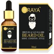100 Natural Oragnic Beard Oil for Nourishment Shine Healthy Beard 30ml