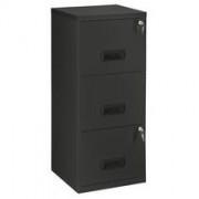 Monoblok archiefkast Budget 3 laden zwart