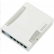 Mikrotik RB951G-2HND RouterBOARD, router, 1x WAN, 4x GbE, WLAN 802.11bgn, USB