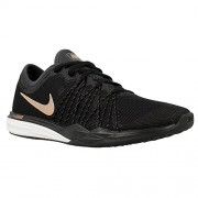 Nike Women's Dual Fusion TR Hit Black Training Shoes (4 UK/India)