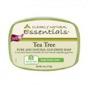 Clearly Natural Glycerin Bar Soap - Tea Tree - 4 oz