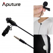 Aputure A.lav ez microphone for mobile/smartphone lavalier clip-on microphone for mobile voice recording lavalier microphone