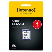 Intenso SecureDigital SD-Speicherkarte 4 GB Class 4 (SDHC)