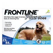 Frontline Plus For Medium Dogs 10 To 20kg (Blue) 6 Pipettes