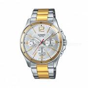 Casio MTP-1374SG-7AVDF reloj analogico - plata + dorado (sin caja)