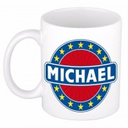 Bellatio Decorations Namen koffiemok / theebeker Michael 300 ml