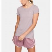 Under Armour Damesshirt HeatGear® Armour met korte mouwen - Womens - Pink - Grootte: Extra Small