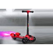 OUR BUSINESS LIMITED Kids' Rocket Spray Scooter - Blue, Red, Yellow or Pink!
