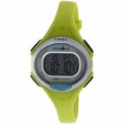Ceas unisex Timex Ironman Essential TW5K90200 Matte galben Resin Swiss Chronograph TW5K90200